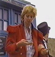 Barbara Benedetti as The Doctor